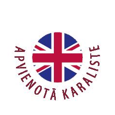 Apvienotās Karalistes karoga ikona | Cilmes šūnu banku alianse | LYL BioBank Hearts