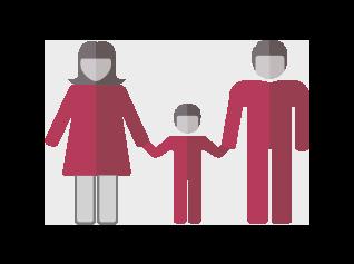 Ģimenes ikona | Cilmes šūnu banku alianse | LYL BioBank Hearts